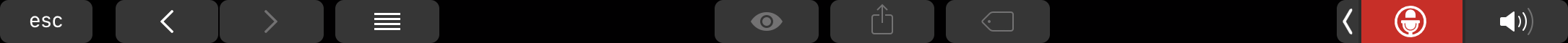 Muted icon of Mutify